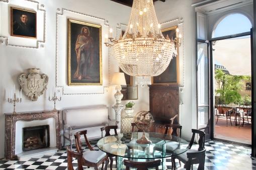 Galleria Arnaboldi - living towards north - east