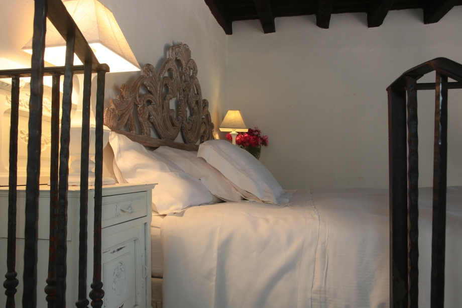 suite camino - king size bed- detail